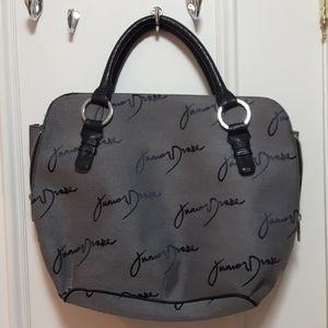 🛍️ Grey signature junior drake handbag